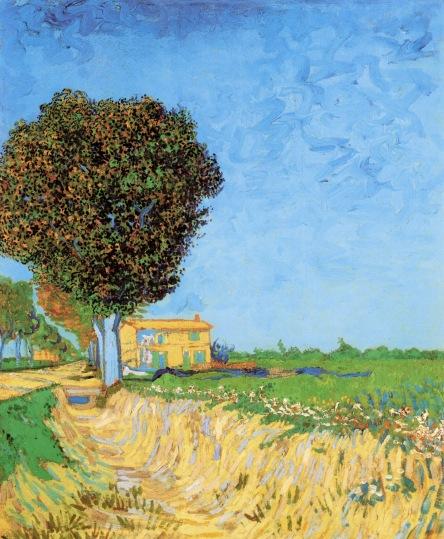 Van Gogh - A Lane Near Arles - 1888