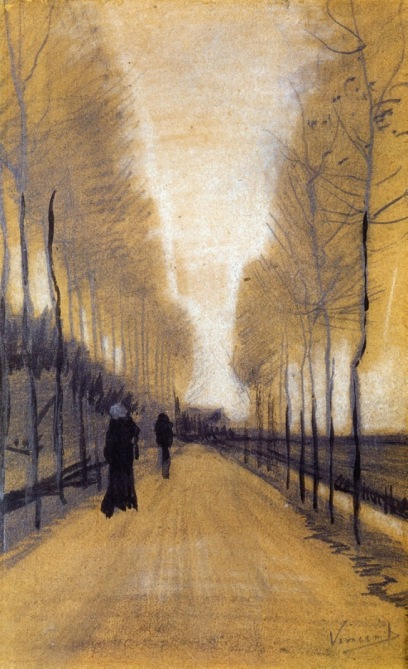 Van Gogh - Alley Bordered by Trees - 1884