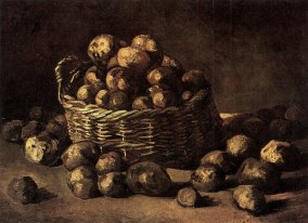 Van Gogh - Basket of Potatoes - 1885