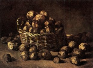 Van Gogh - Basket of Potatoes - 1885