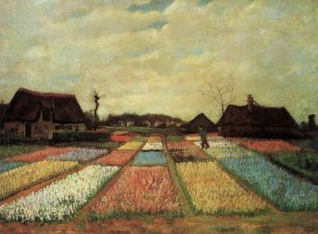 Van Gogh - Bulb Fields - 1883