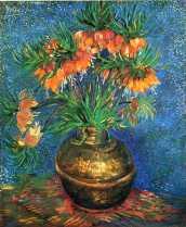 Van Gogh - Fritillaries in a Copper Vase - 1887