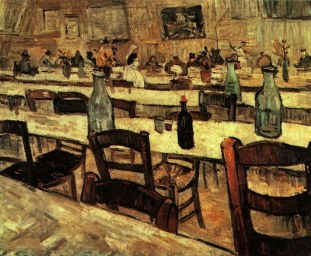 Van Gogh - Interior of a Restaurant in Arles - 1888