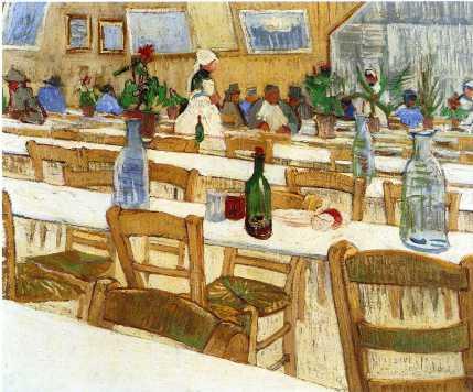 Van Gogh - Interior of Restaurant - 1887