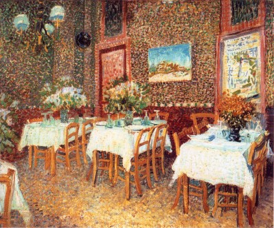 Van Gogh - Interior of Restaurant (2) - 1887