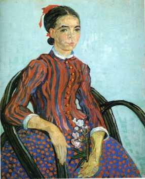 Van Gogh - La mousme - 1888