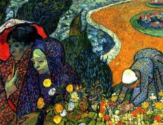Van Gogh - Ladies of Arles (Memories of the Garden at Etten) - 1888