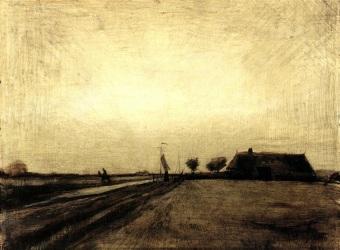 Van Gogh - Landscape in Drenthe - 1883