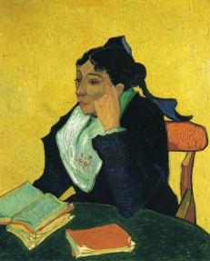 Van Gogh - L'Arlesienne, Portrait of Madame Ginoux - 1888