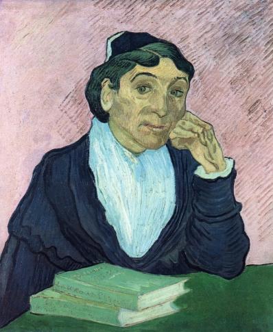 Van Gogh - L'Arlesienne, Portrait of Madame Ginoux - 1890