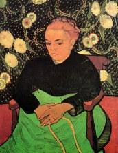 Van Gogh - Madame Augustine Roulin (2) - 1889
