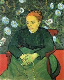 Van Gogh - Madame Augustine Roulin (3) - 1889