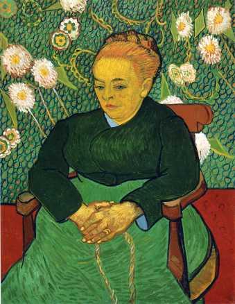 Van Gogh - Madame Augustine Roulin (4) - 1889