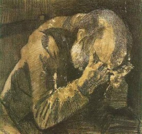 Van Gogh - Man with his head in his hands - 1882