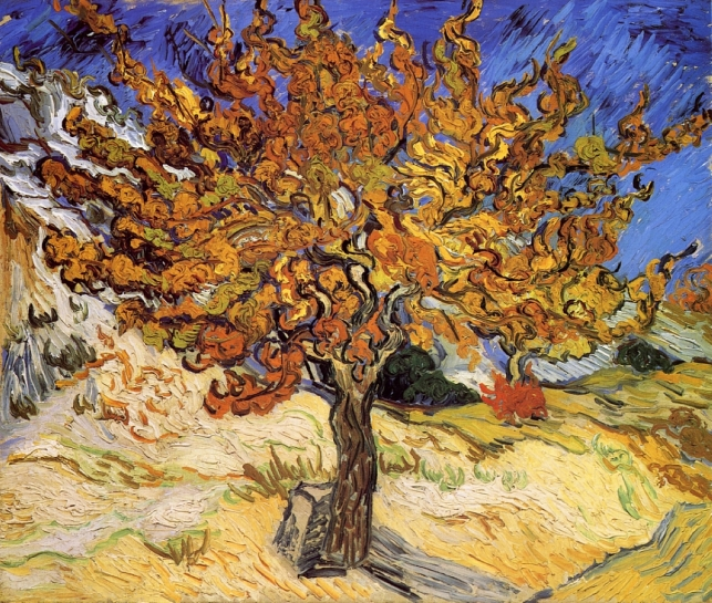 Van Gogh - Mulberry Tree - 1889