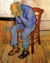Van Gogh - Old Man in Sorrow (On the Threshold of Eternity) - 1890