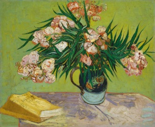 Van Gogh - Oleanders and Books - 1888