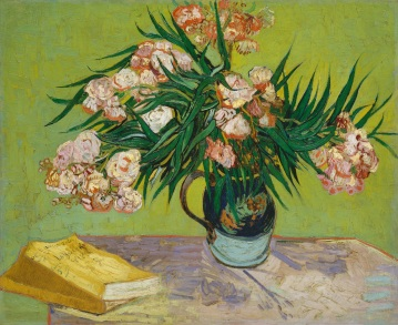 Van Gogh - Oleanders and Books - 1888