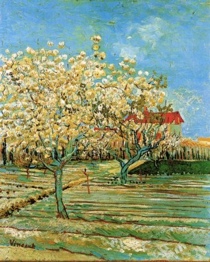 Van Gogh - Orchard in Blossom - 1888