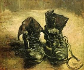 Van Gogh - Pair of Shoes - 1886
