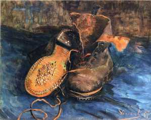 Van Gogh - Pair of Shoes - 1887