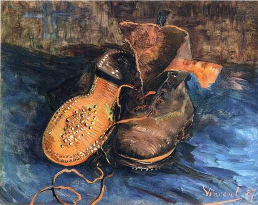 Van Gogh - Pair of Shoes - 1887