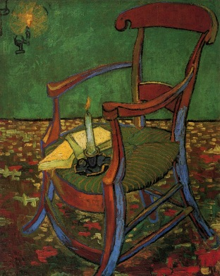 Van Gogh - Paul Gauguin's Armchair - 1888