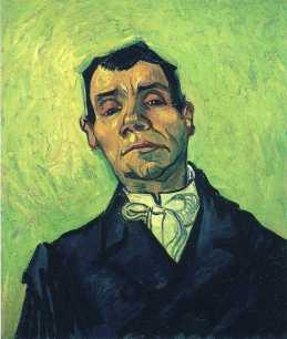 Van Gogh - Portrait of a Man - 1888