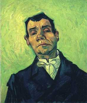 Van Gogh - Portrait of a Man - 1888