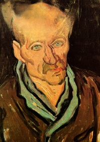 Van Gogh - Portrait of a Patient at the Saint Paul Hospital - 1889
