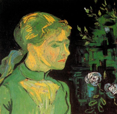 Van Gogh - Portrait of Adeline Ravoux - 1890