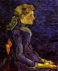 Van Gogh - Portrait of Adeline Ravoux (2) - 1890