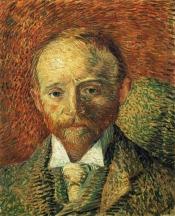 Van Gogh - Portrait of Alexander Reid - 1887