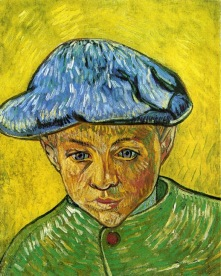 Van Gogh - Portrait of Camille Roulin - 1888