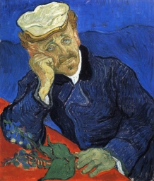 Van Gogh - Portrait of Dr. Gachet - 1890