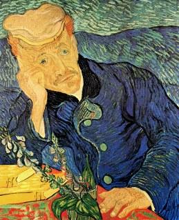 Van Gogh - Portrait of Dr. Paul Gachet - 1890
