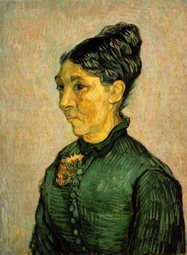 Van Gogh - Portrait of Madame Trabuc - 1889