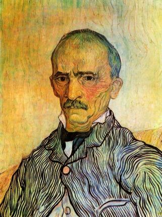 Van Gogh - Portrait of Trabuc, Attendant at Saint Paul Hospital - 1889