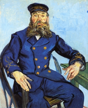 Van Gogh - Postman Joseph Roulin - 1888
