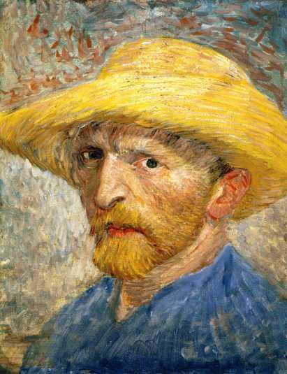 Van Gogh - Self-Portrait - 1887