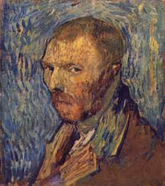 Van Gogh - Self-Portrait (2) - 1889