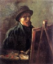Van Gogh - Self-Portrait (3) - 1886