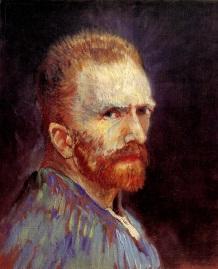 Van Gogh - Self-Portrait (3) - 1887