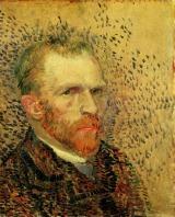 Van Gogh - Self-Portrait (5) - 1887
