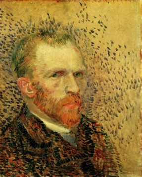 Van Gogh - Self-Portrait (5) - 1887