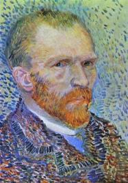 Van Gogh - Self-Portrait (7) - 1887