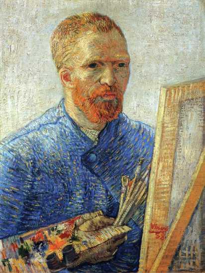 Van Gogh - Self-Portrait as an Artist - 1888
