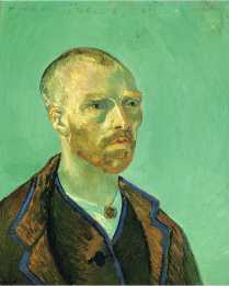 Van Gogh - Self Portrait Dedicated to Paul Gauguin - 1888