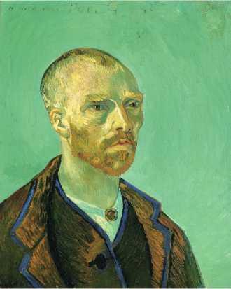 Van Gogh - Self Portrait Dedicated to Paul Gauguin - 1888