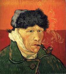 Van Gogh - Self-Portrait with Bandaged Ear - 1889